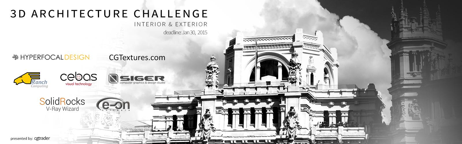 3D CG Architecture Challenge
