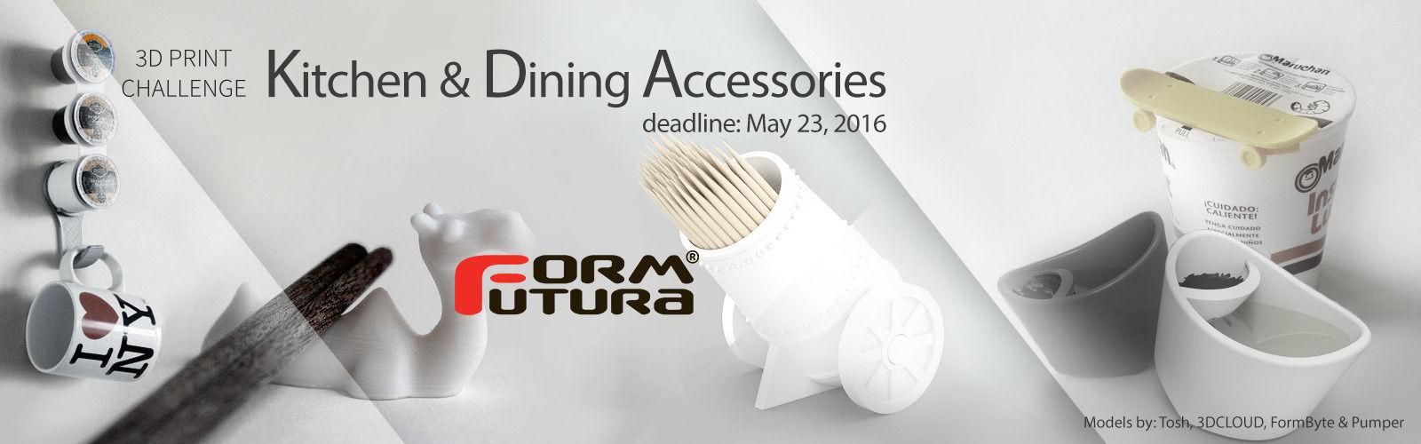 3D Printed Kitchen Accessories Challenge
