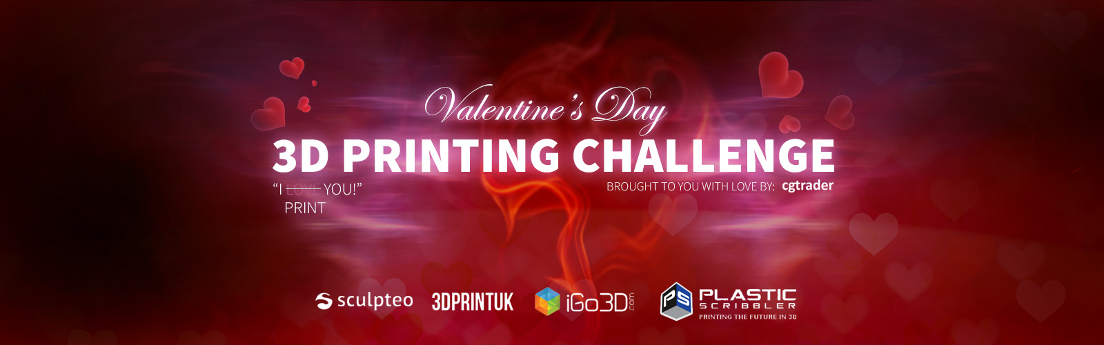 Valentine's 3D Printing Challenge
