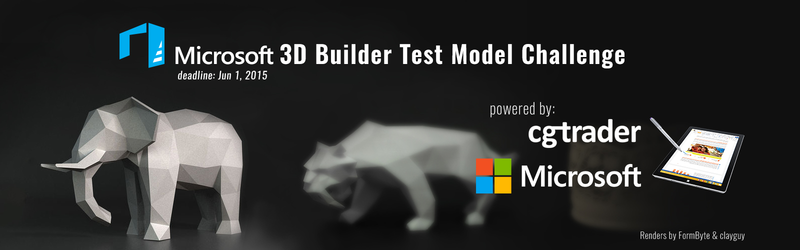 Microsoft 3D Builder Test Model Challenge