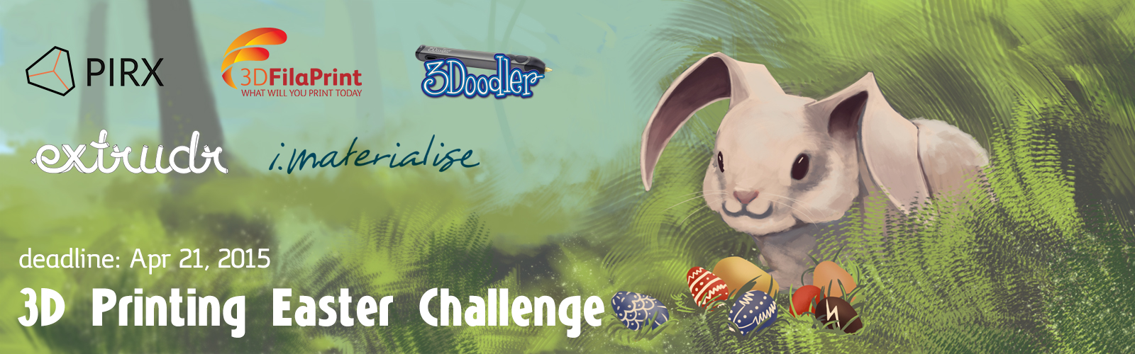 3D Printing Easter Challenge