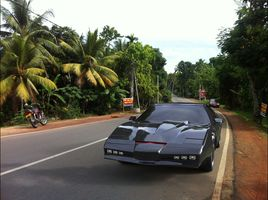 Knight rider in our neighborhood