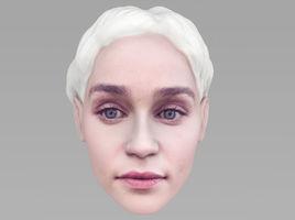Daenerys Targaryen Game of Thrones 3D model