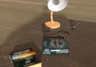Wooden Desk Lamp II