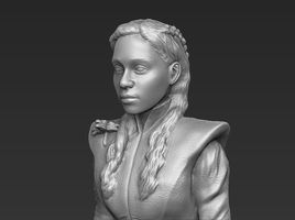 Daenerys Targaryen Game of Thrones 3D printable