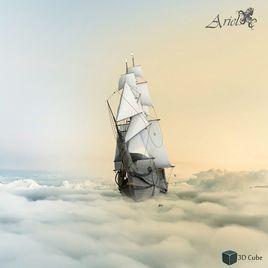 Ariel Pirate Ship