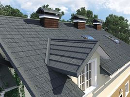 Close up house roof