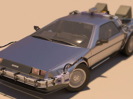 Delorean BTTF