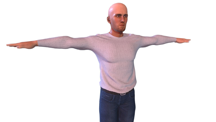 Clothed Male Character