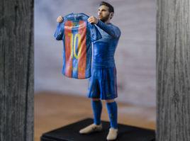 Lionel Messi 3D printed