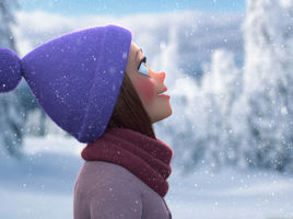 Cartoon Winter Study by Darko Mitev
