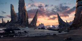 Menhir Station by Carles Marsal