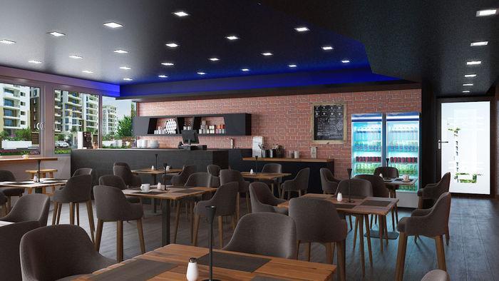 interior design rendering service for restaurant los angeles ca