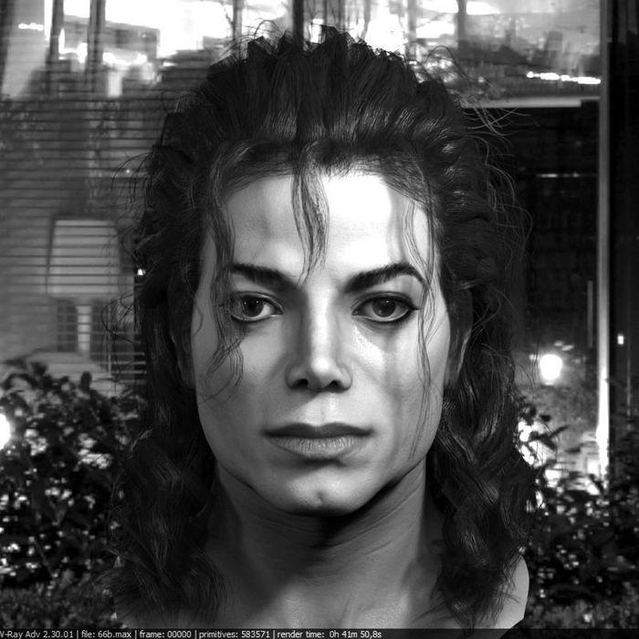 Making celebrity Michael Jackson