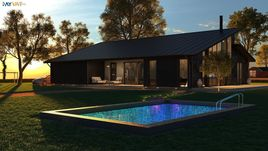 Exterior Architectural Rendering Services Chicago for Home Design Project