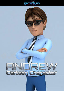 3D Human Cartoon