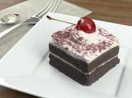 Cake Chocolate Cherry