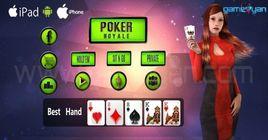 Royal Poker Character Design and Animation
