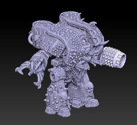 Leviathan Caos Custom dreadnought