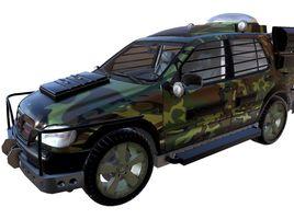 Jurassic Park II Mercedes Benz Dome Version