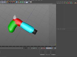 3D SCI FI Weapon pattern