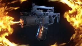 Sci fi flame\ gun