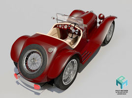 Riley 1935 classic car