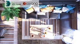 Modern Scene-Corona Renderer