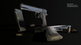 M1911A1 - GameAsset - WW2 Era