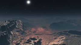 Inhospitable planet