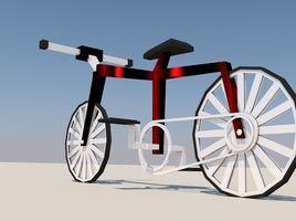 Lowpoly Bike SPEEDMODELING