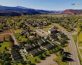 3D Aerial View of Arizona House Site Bird Eye View