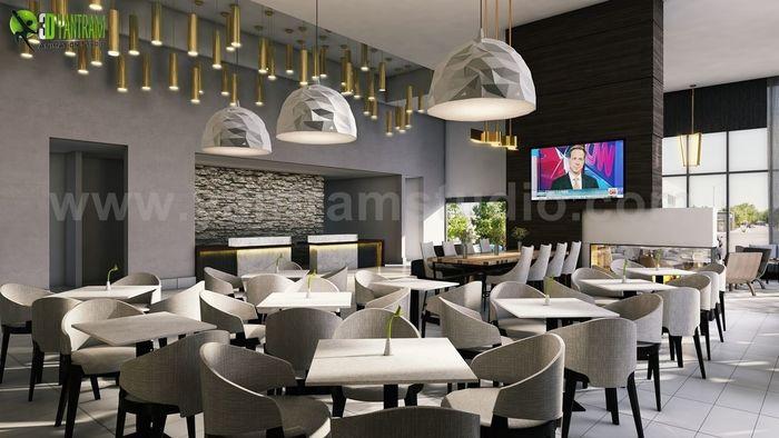 Best Cafe, Bar U0026 Restaurant Interior Designs By Yantram Interior Design  Firms   Vegas, USA
