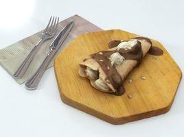 Crepe Pancake Chocolate