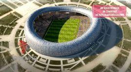3D Modeling & Rendering Of A Stadium