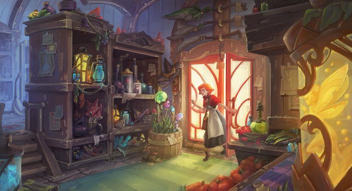 Fantasy shop | CGTrader
