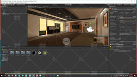 VR interior design for furniture presentation