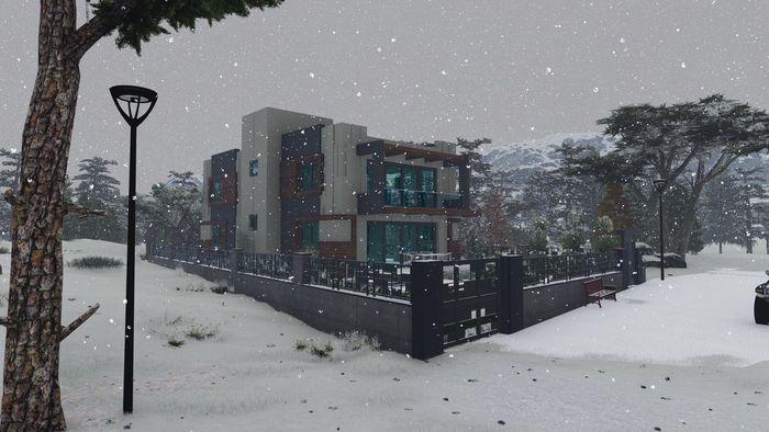 Village -Snow