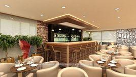 3D Interior Rendering Of Hotel (Bar)