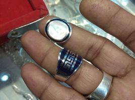 Silver Mina Mens Ring