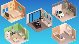 Low Poly House Pack