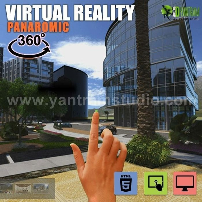 360 Vr Interactive Panoramic Video Developed By Yantram Real Estate