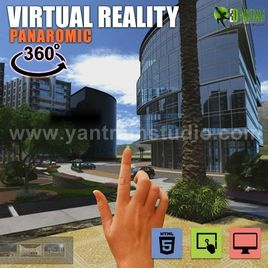 360° VR Interactive Panoramic Video Developed by Yantram Real Estate VR App, New Jersey - USA