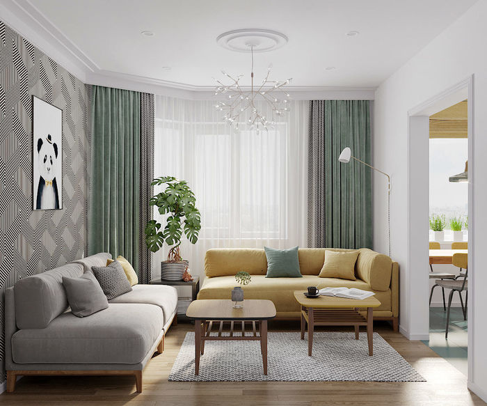 apartment for a young family
