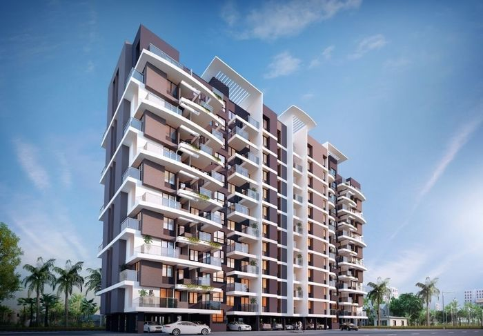 3D Rendering Of Residential Apartment