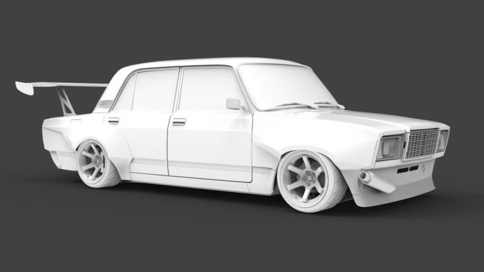 VAZ 2107 Concept  Body Kit