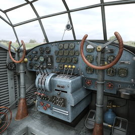 Ju-52 interior