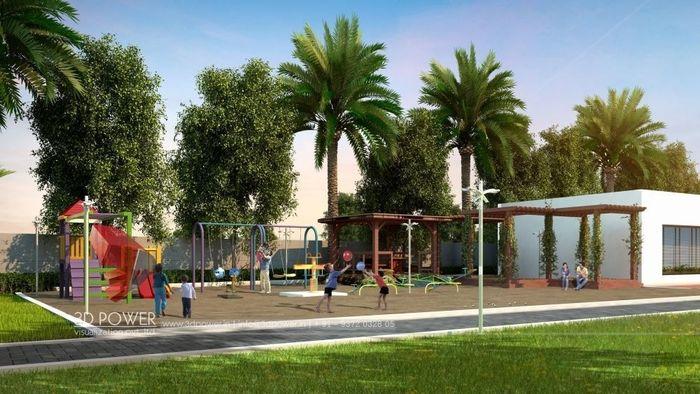 Plotting Layout, Landscape Designing & it's 3D Rendering