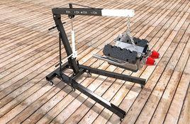 Folding Engine Crane
