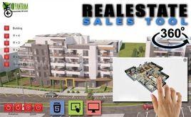 360 Virtual Interactive Real Estate Sales Tool By Yantram Virtual Reality Apps Development, Berlin - Germany